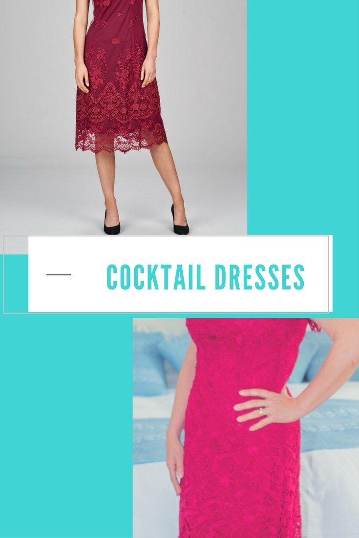 The Power of a Red Cocktail Dress #cocktaildress
