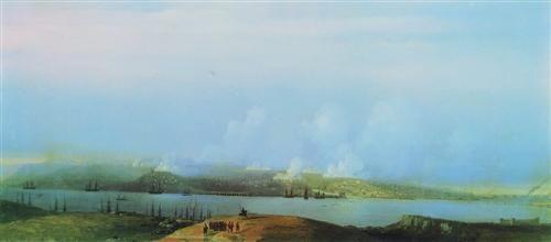Siege of Sevastopol  - Ivan Aivazovsky