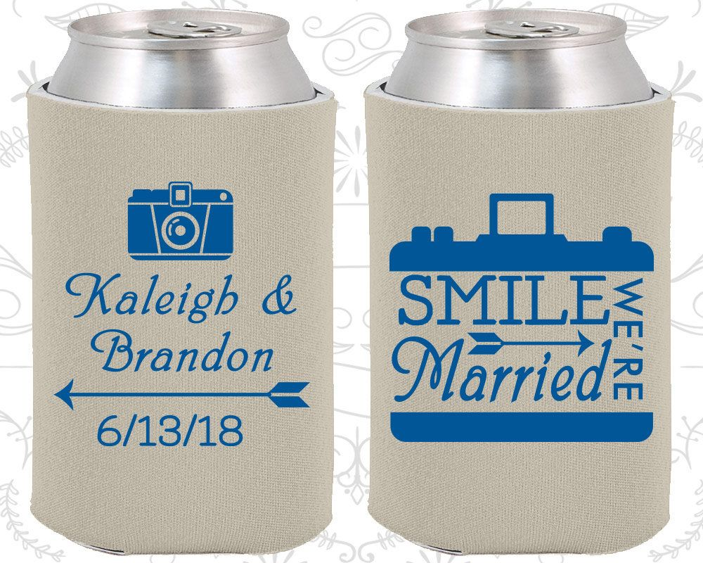 Smile We are Married, Personalized Wedding Favors, Arrow Wedding ...