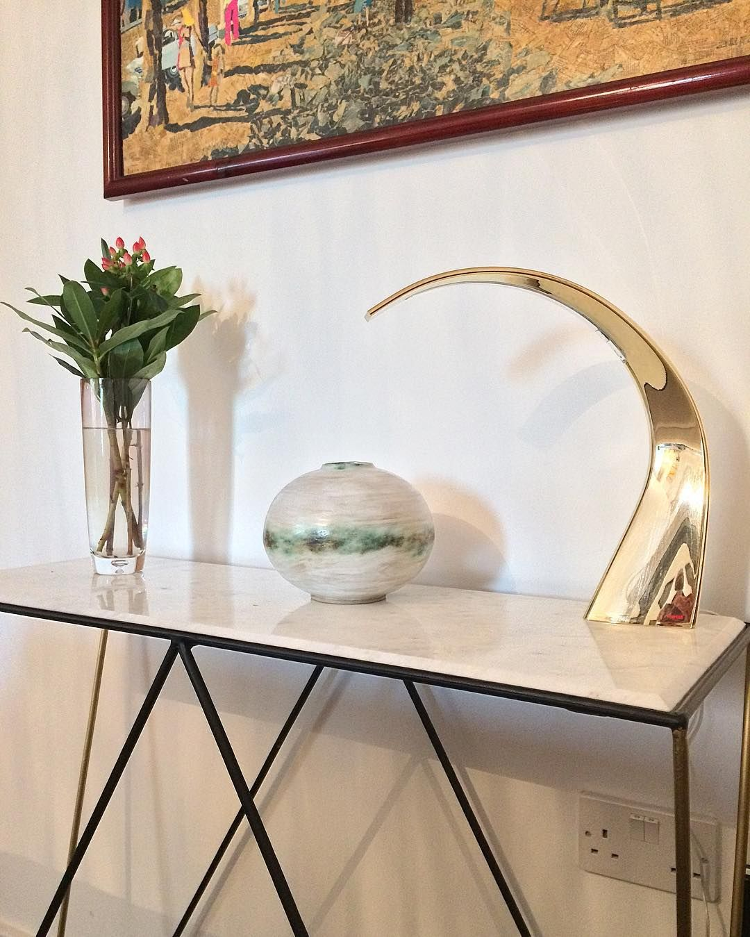 """61 Likes, 3 Comments - Andrew Walker (@andrewwalker.ceramics) on Instagram: """"In its new home.. #handmade #style #interiordesign #clay #ceramics #industrialdesign #pottery…"""""""