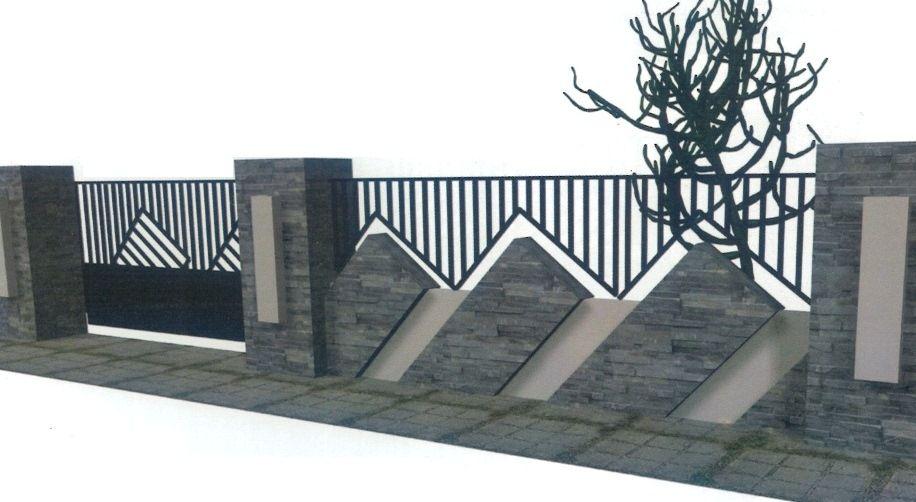 Desain Pagar Tembok Minimalis Terbaru » Gambar 03 | ♥ Home ...