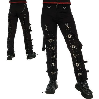 'Chamber buckle' pants by Dead Threads