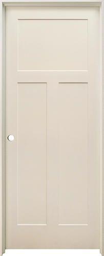 Mastercraft 32 X 80 Primed 3 Panel Stile And Rail Int Door Rh At Menards Hollow Core Interior Doors Prehung Interior Doors Prehung Doors