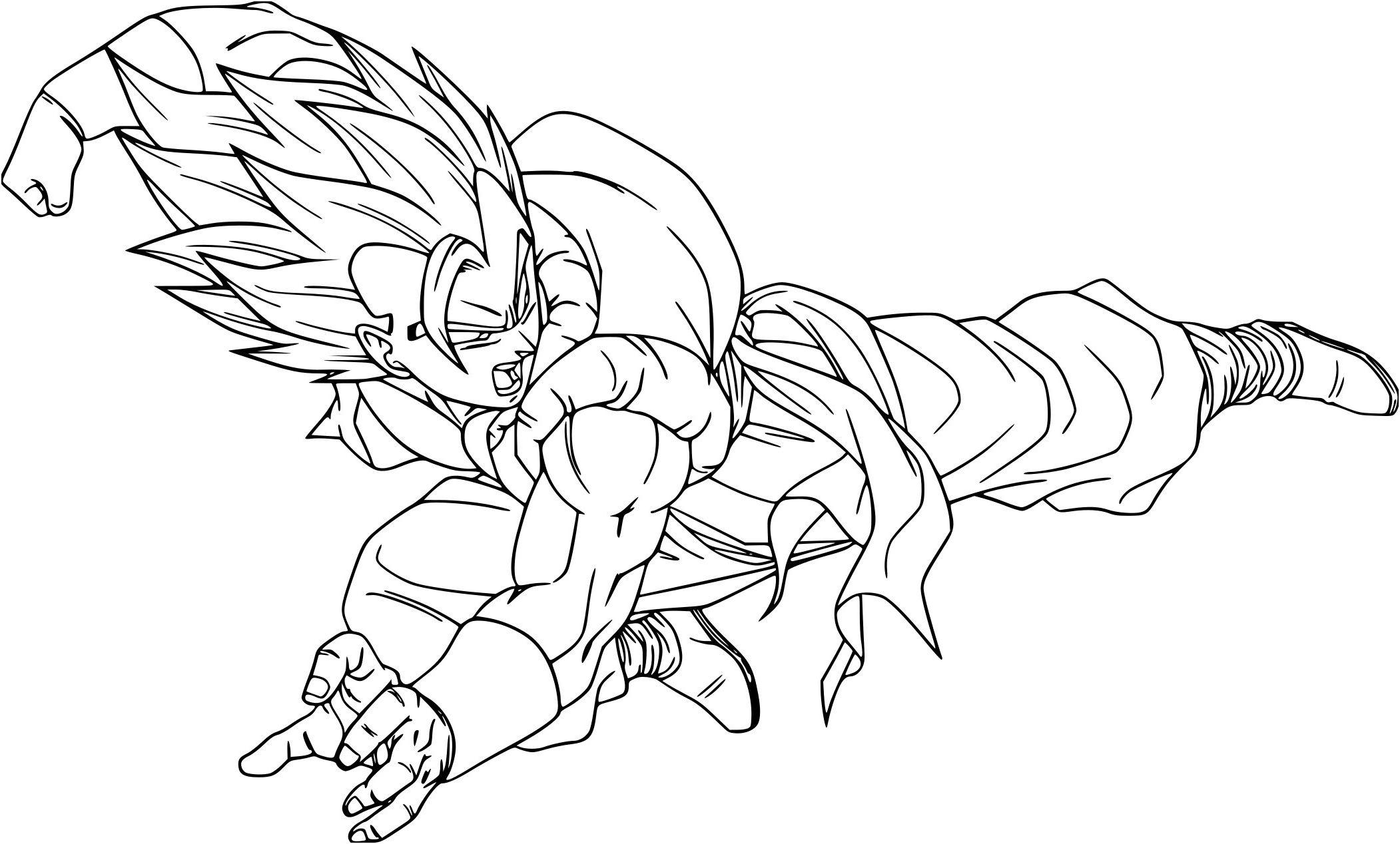 Dessin A Imprimer Dragon Ball Super