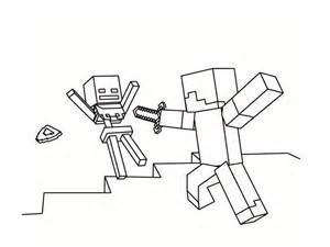 Free Printable Minecraft Zombie Villager Coloring Pages