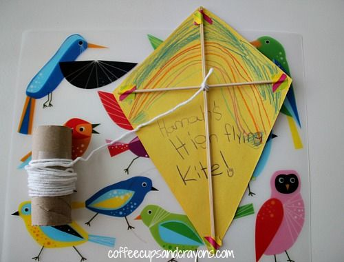 Wind Activities For Kids Kite Making Kites Craft Kites For Kids