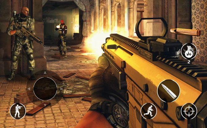 Juegos Móviles Android 5 De Los Mejores Juegos De Disparos