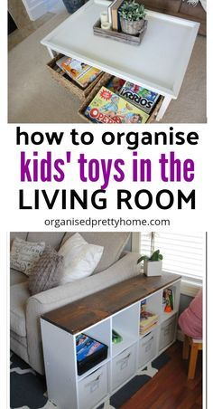 Living Room Toy Storage Ideas images