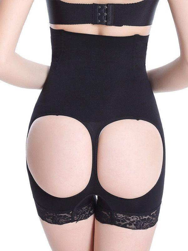 30304d2a82 Burvogue Black High Waist 4 Steel Boned Butt Lift Shaper Wholesale ...