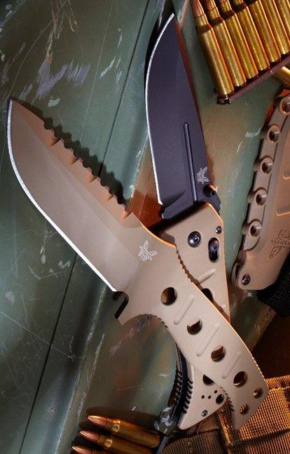 Benchmade - Adamas 275 EDC Tactical Folding Knife Blade, Plain Drop