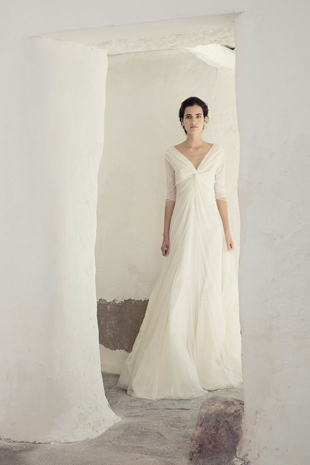 Silky Simplicity The Cortana Bridal Collection Wedding Dresses
