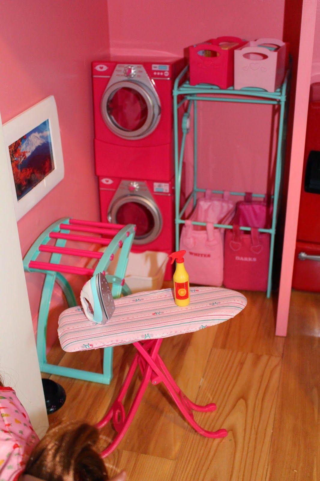 3rd bedroom | Girls dollhouse, American girl doll house
