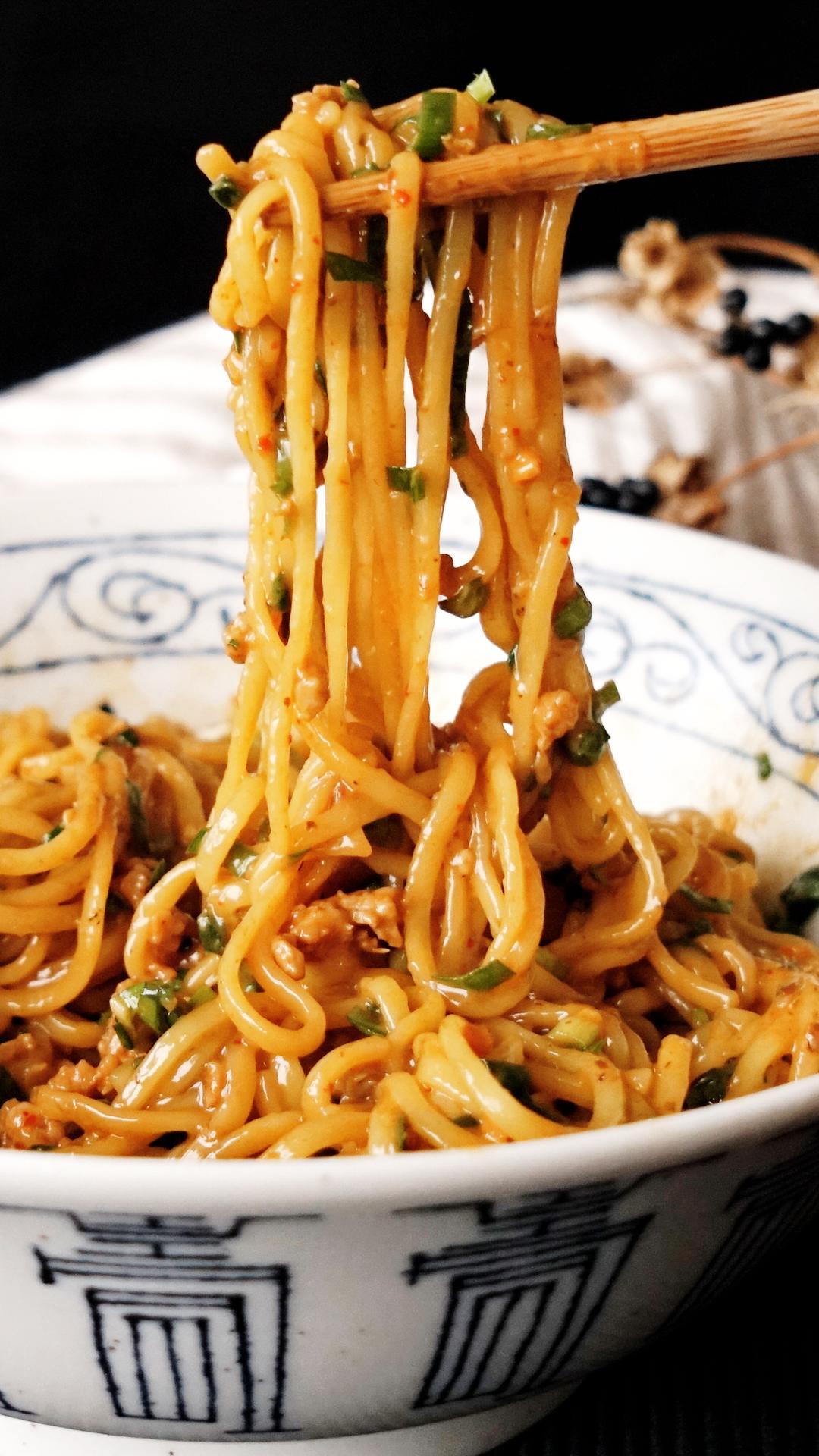 Almost Instant Soupless Noodles