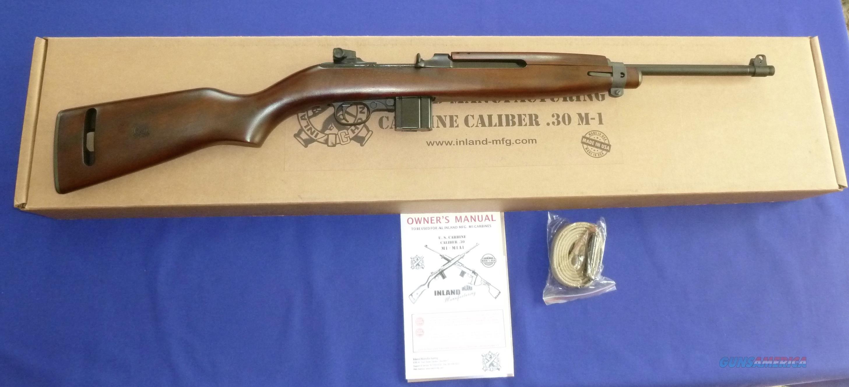 Inland Manufacturing M1 1944  30 Carbine Semi-Auto Rifle
