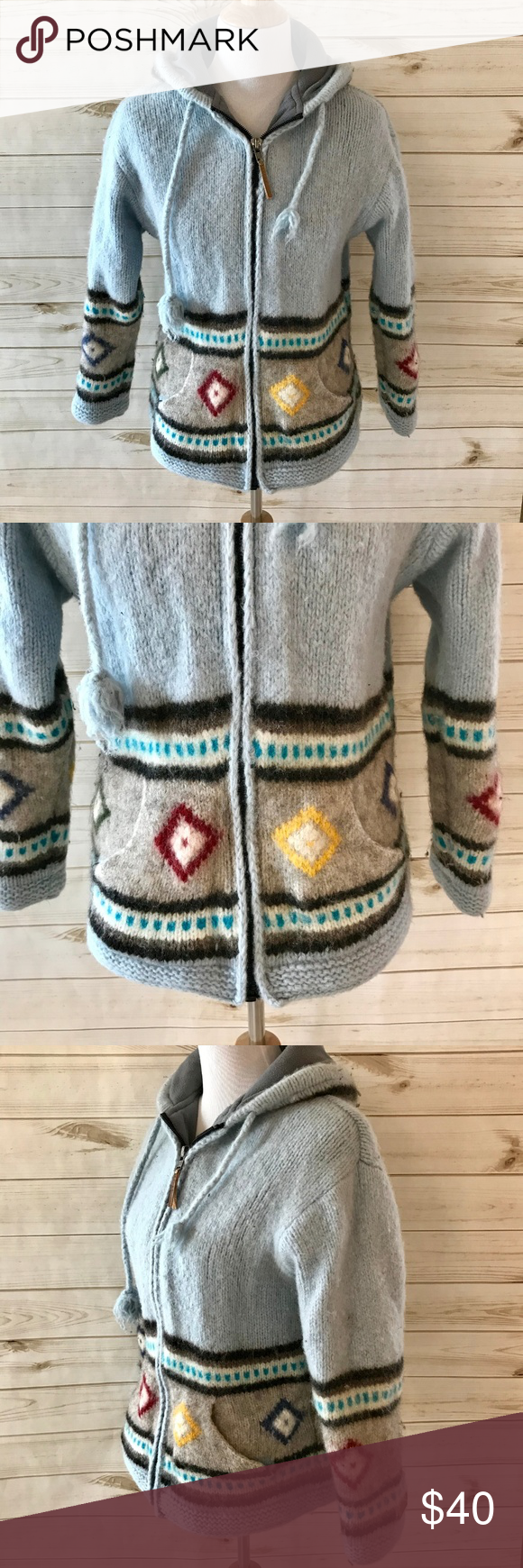Kyber Outerwear 100 Wool Hooded Jacket This Is Moderately Used With Some Pilling Armpit To Armpit Measures 18 Sleeve Length Hooded Jacket Outerwear Jackets [ 1740 x 580 Pixel ]