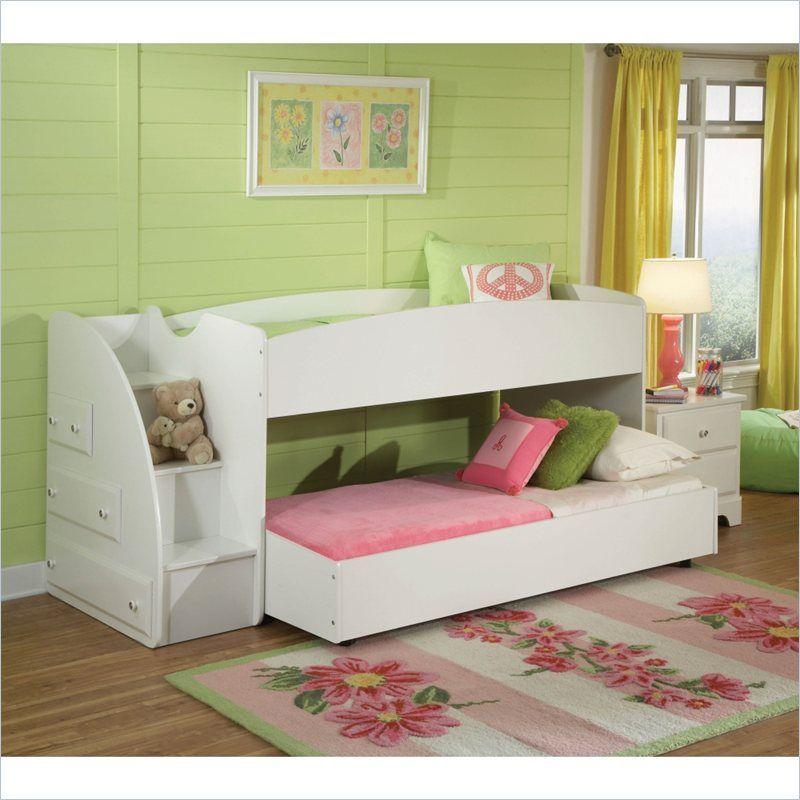 Standard Furniture Reagan Loft Bed In White 669