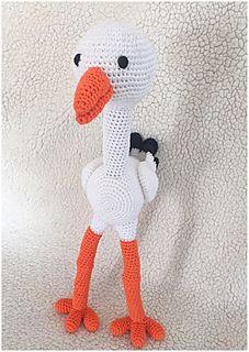 Stork Ooievaar Pattern By By Alinies Haken Pinterest Stork