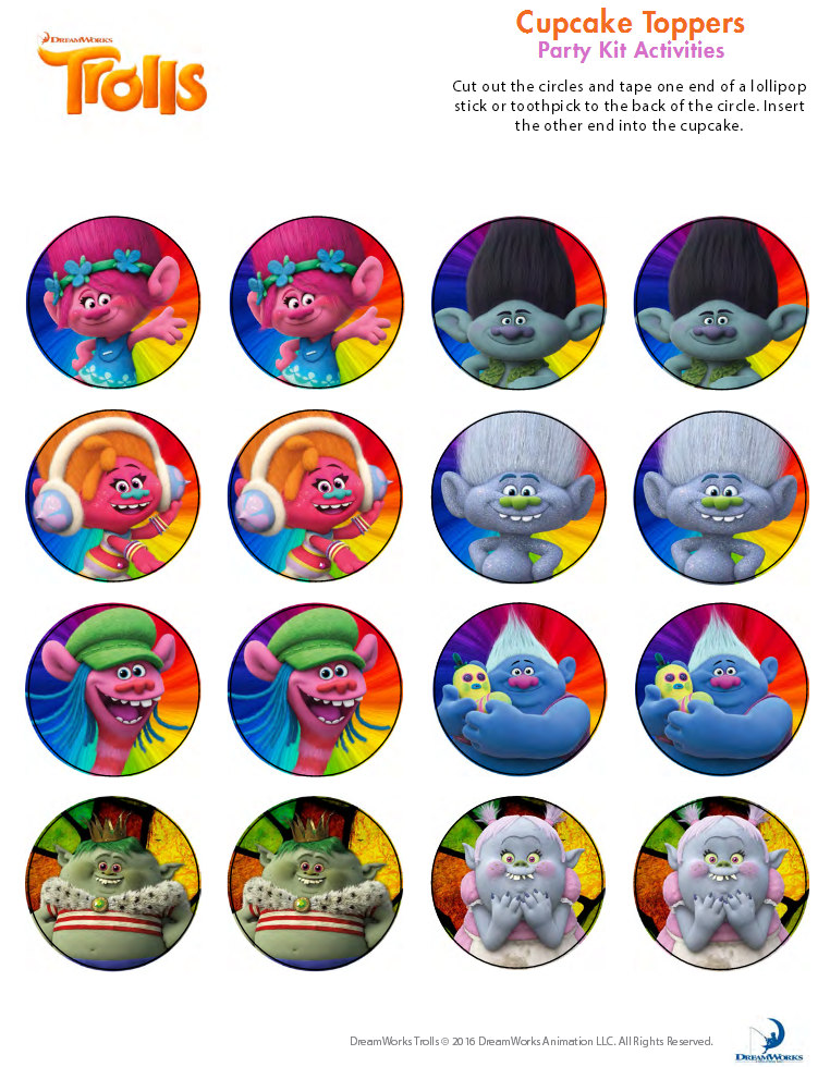 Pin By Shaffer Anchor On Anchor Printable Troll Party