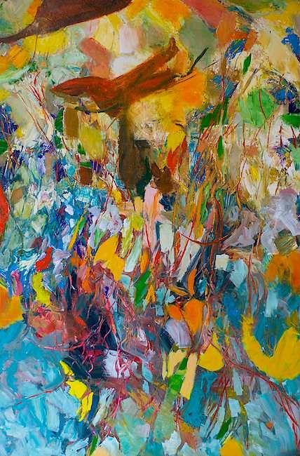 Desert Explosion by Allan P Friedlander