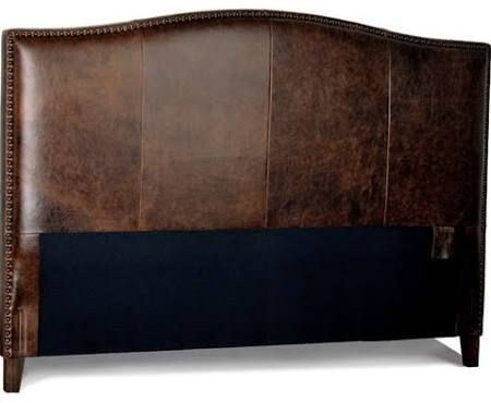 Antique Leather Headboard King Google Search