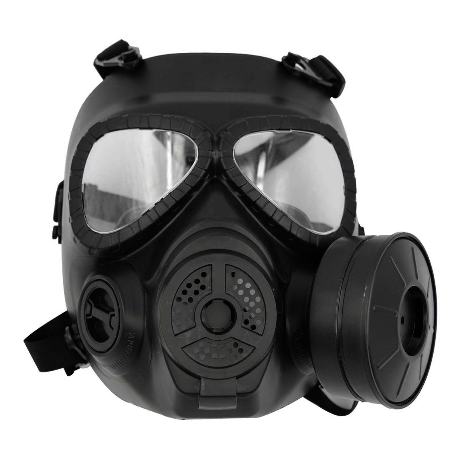 Safety Mask Guard Military Black Paintball outdoor survival games ...