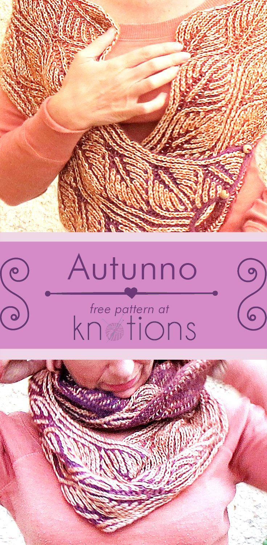 Autunno Cowl | Knit cowl, Brioche and Free pattern