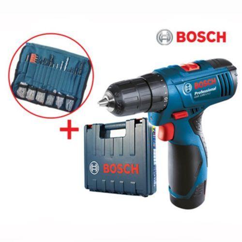Bosch Full Set Gsr 1080 2 Li Professional Cordless Drill Driver 10 8 Tool Codeless Charger Drive Wood Steel New Korea