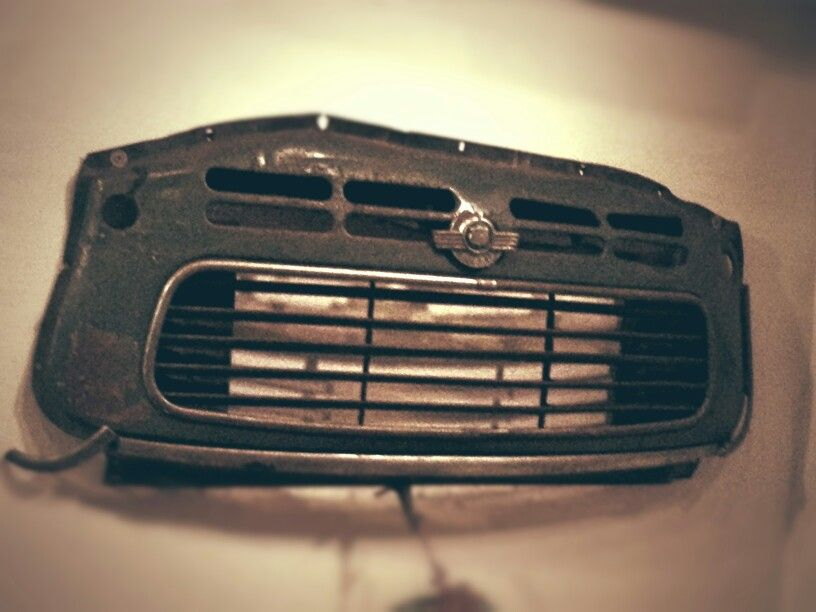Motor piece of Morris Minor