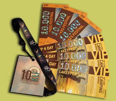 music festival tickets d e s i g n Pinterest