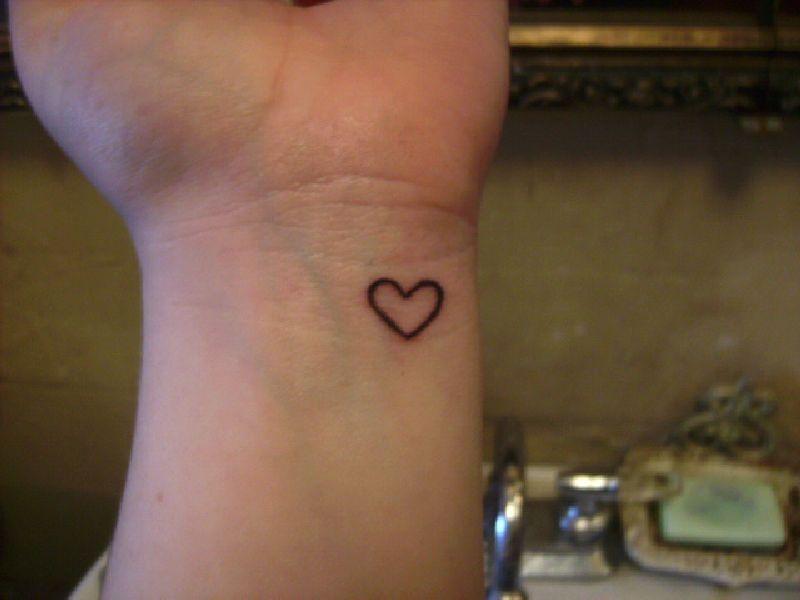 Heart Tattoo Heart Tattoo Wrist Small Heart Tattoos Simple Heart Tattoos