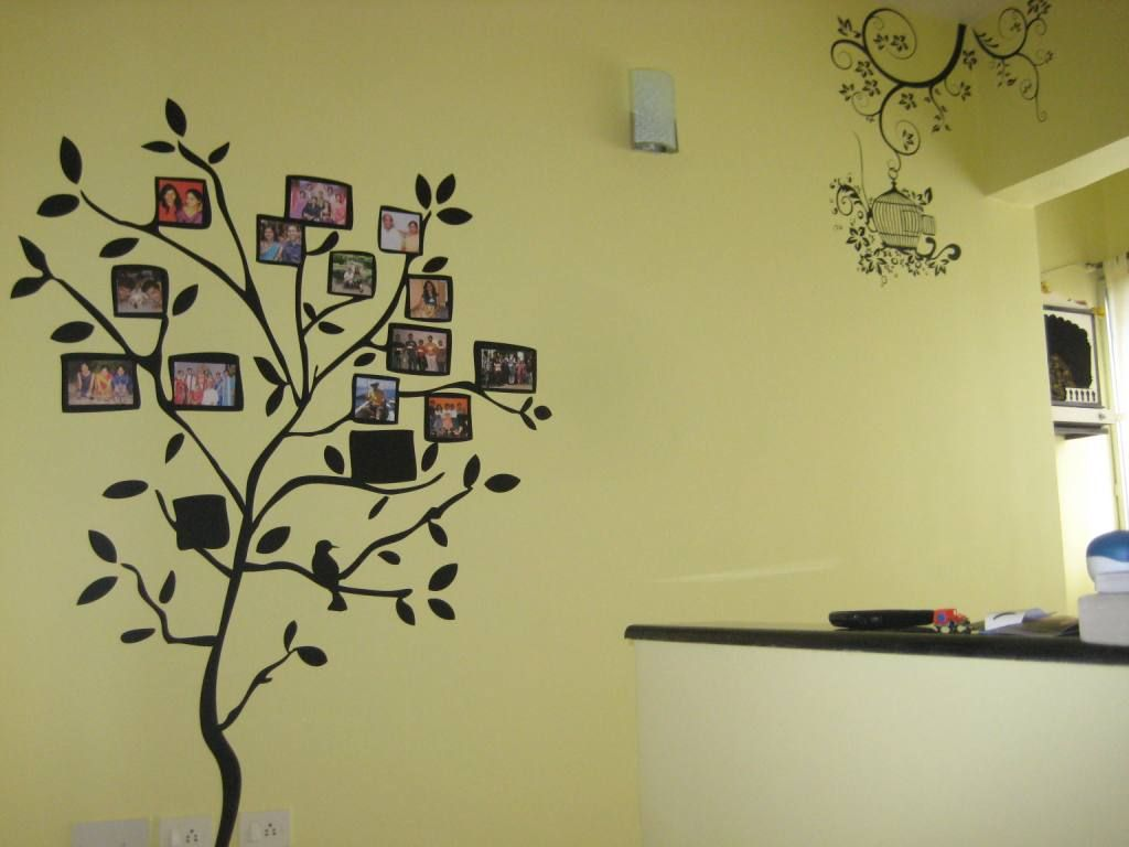 Family Tree Wall Decal Feathering The Nest Pinterest Tree - How to put up a tree wall decal