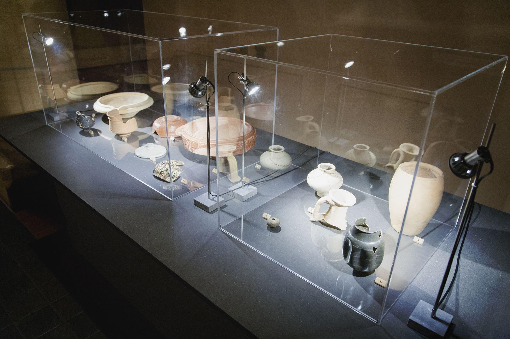 Tentoonstelling 2015: Graven in Ouwen! Eén eeuw archeologie. Een aantal vondsten uit het rijke archeologische verleden van Grobbendonk en Bouwel