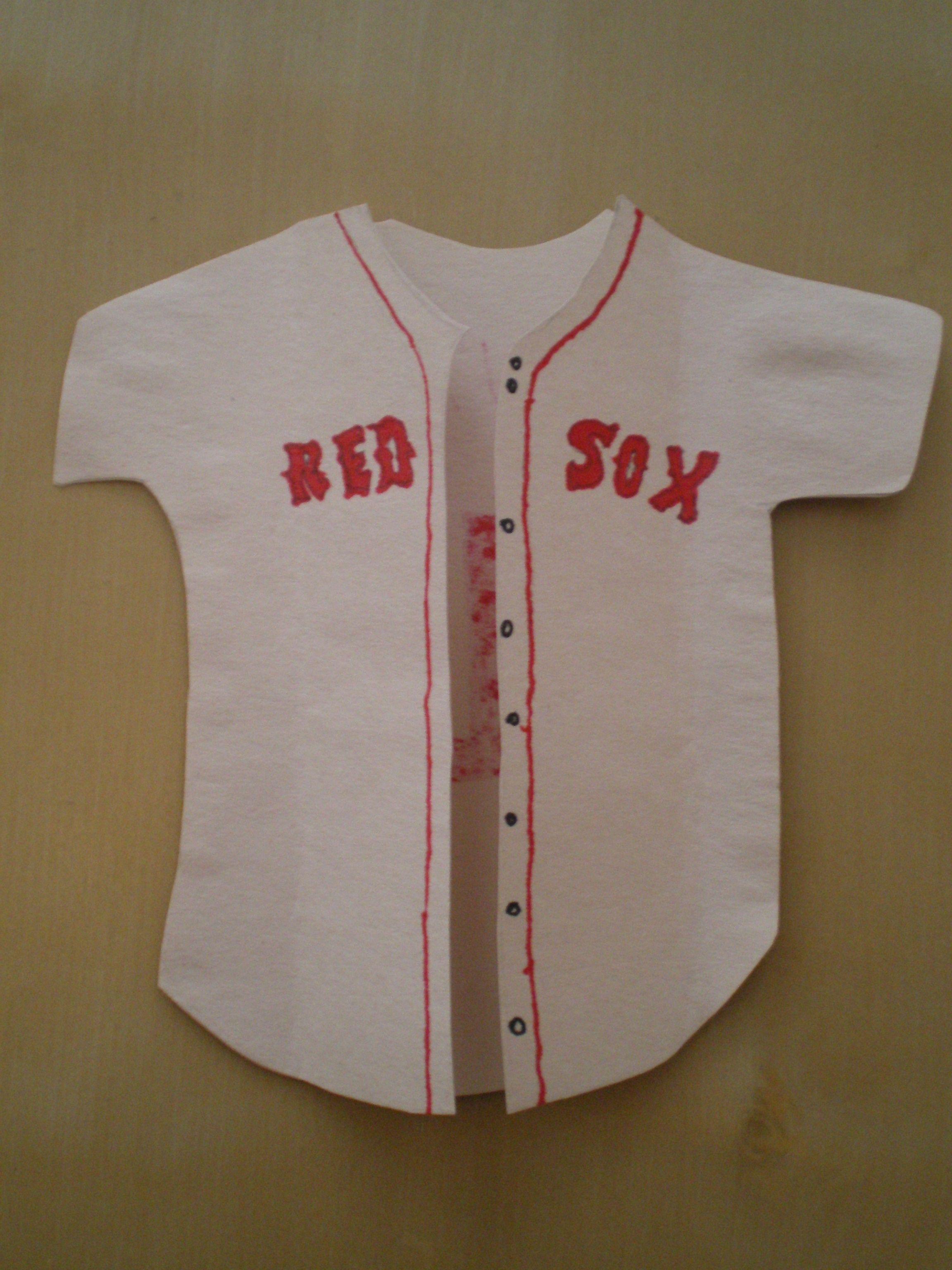 Fun baseball jersey card baseball crafts baseball