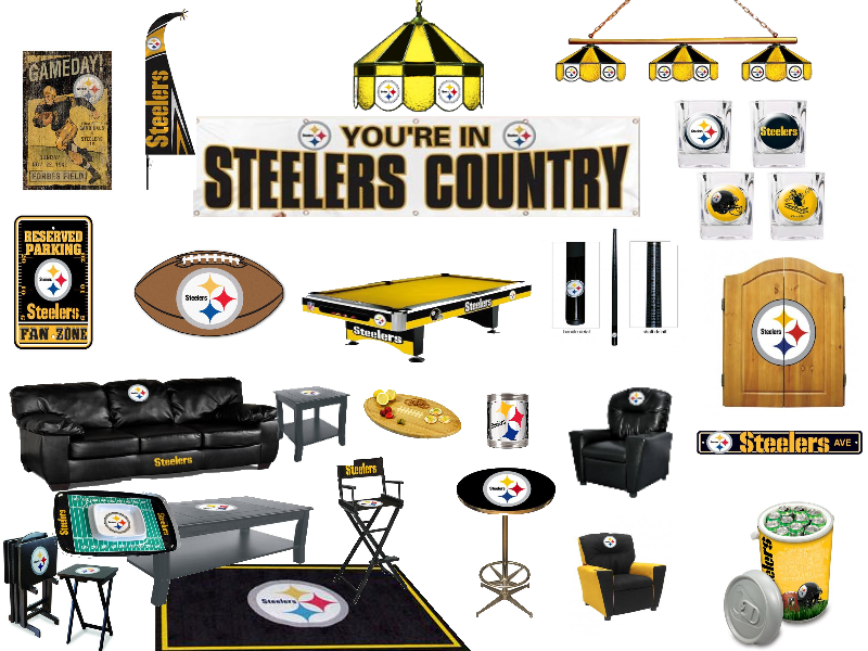 Awesome Pittsburgh Steelers Man Cave Ideas And Products