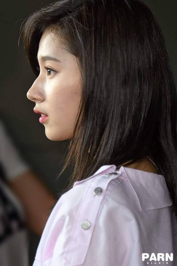Click For Full Resolution Twice Sana Side Profile Girl Side Profile Big Nose Beauty Straight Nose