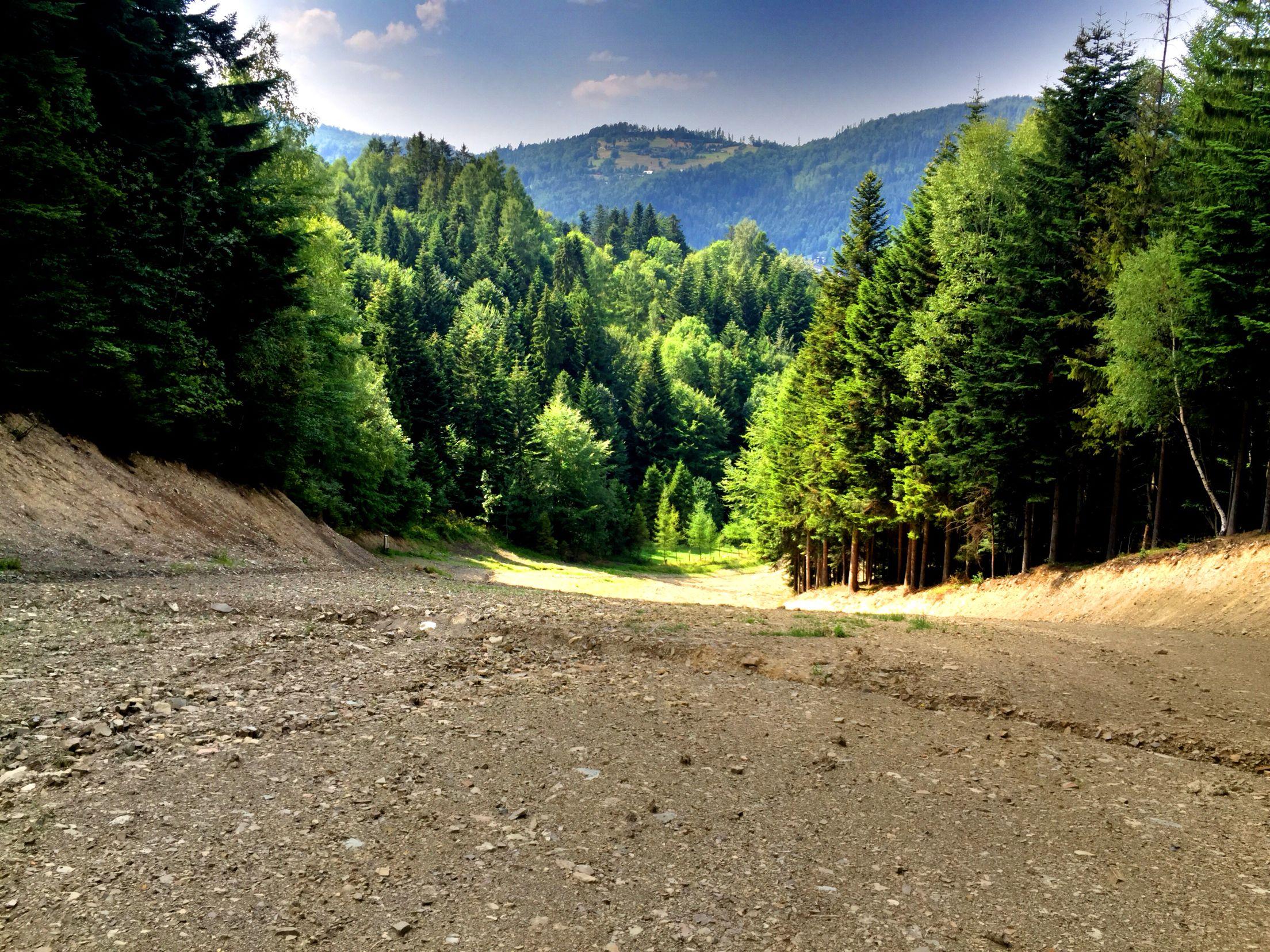 Przeprofilowana Trasa Fis W Szczyrku Country Roads Poland Country