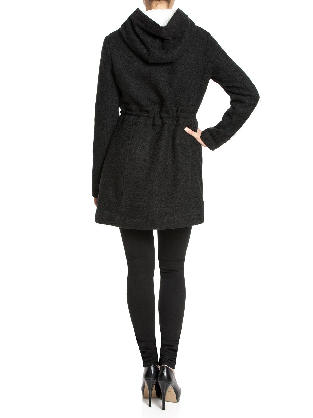 Osito de Peluche Coat - black