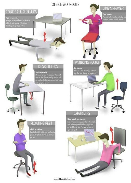 work office workout for idai at exerciseposter desk workouts baskan co a exercise