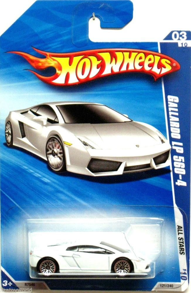 lamborghini gallardo lp 560 4 superleggera hot wheels 2010 all stars 3 10 white hotwheels. Black Bedroom Furniture Sets. Home Design Ideas