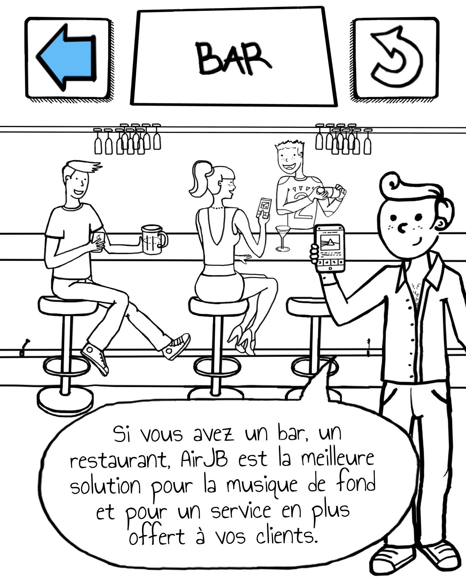 Si vous avez un bar, un restaurant, AirJB est la meilleure