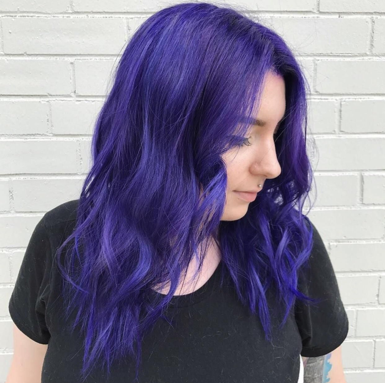 i've had different shades of purple hair for years but this one is