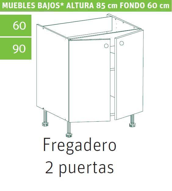 Hermosa Altura Muebles Cocina Ilustración - Ideas de Diseño de ...