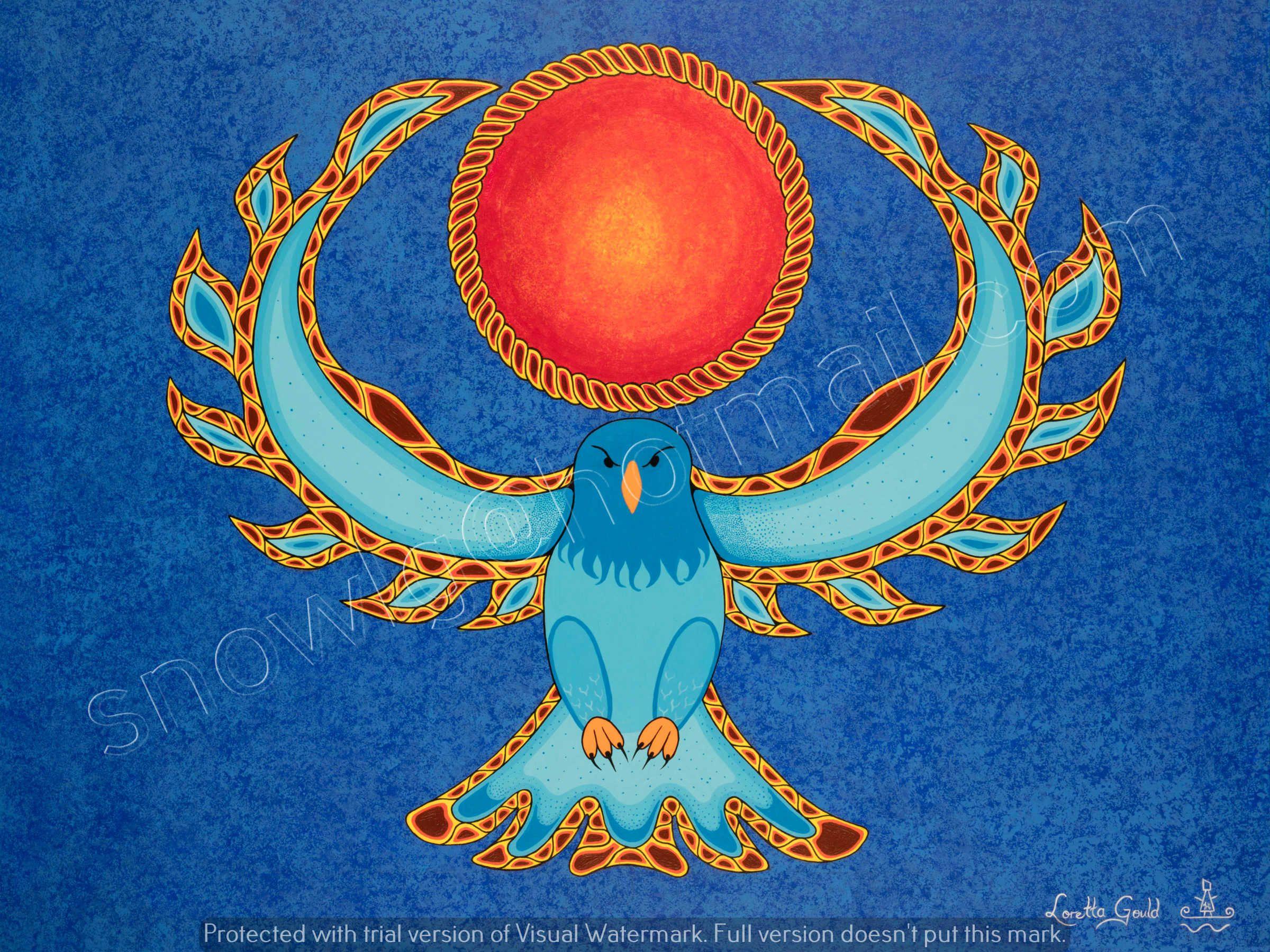 """Sun Protector"" By Loretta Gould snowlg@hotmail.com"