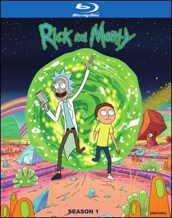 Rick And Morty The Complete First Season Blu Ray Rick And