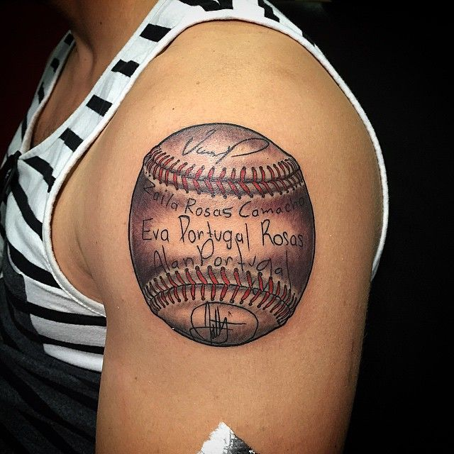 45 sporty baseball tattoo designs for the love of the game projects to try pinterest. Black Bedroom Furniture Sets. Home Design Ideas