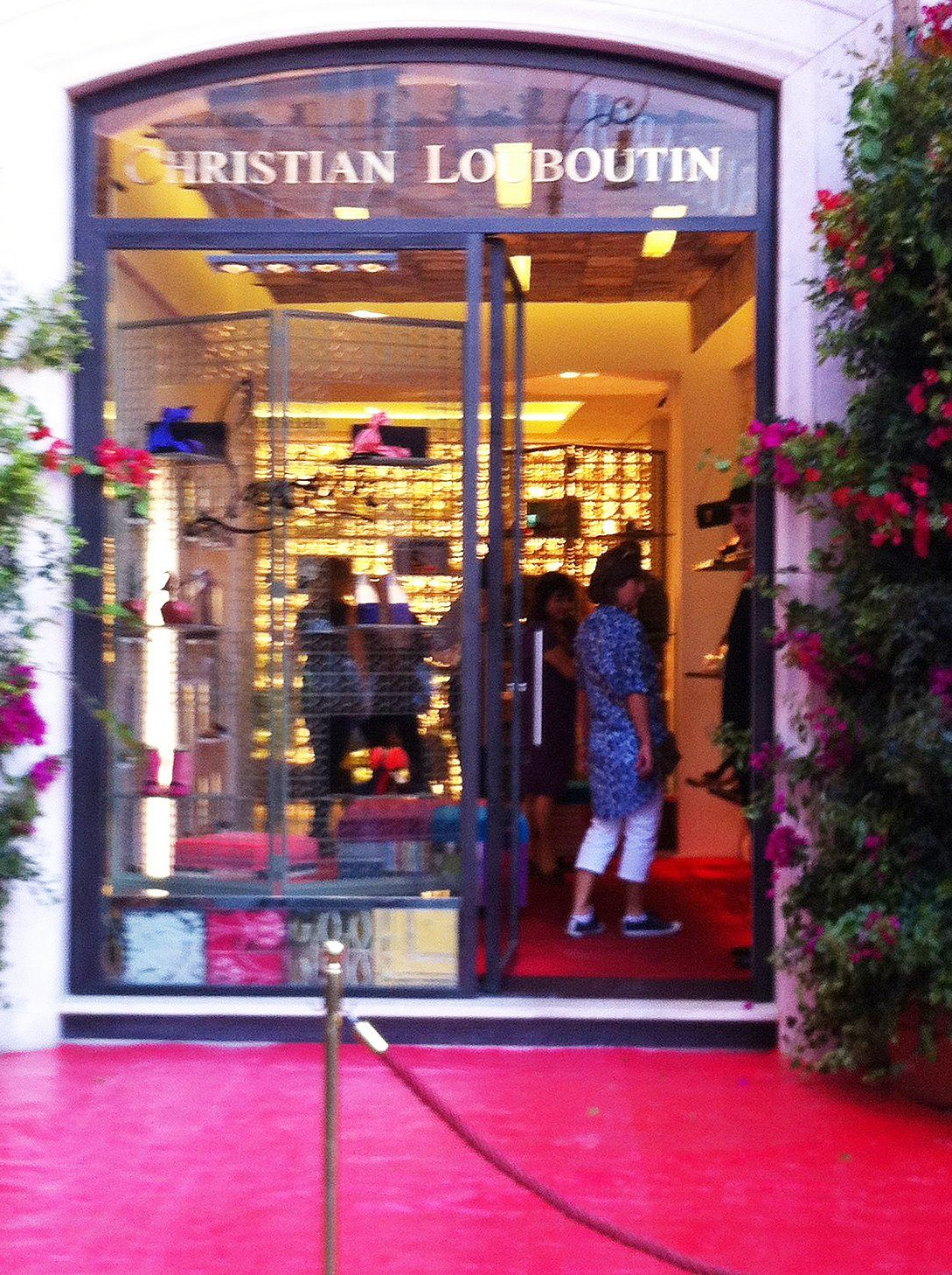 christian louboutin store venice italy