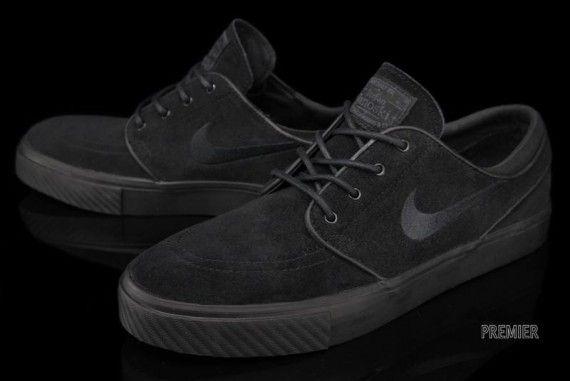 Nike Zoom Stefan Janoski Black White Gum SneakerNews