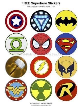 superhero logo template google search school superhero party
