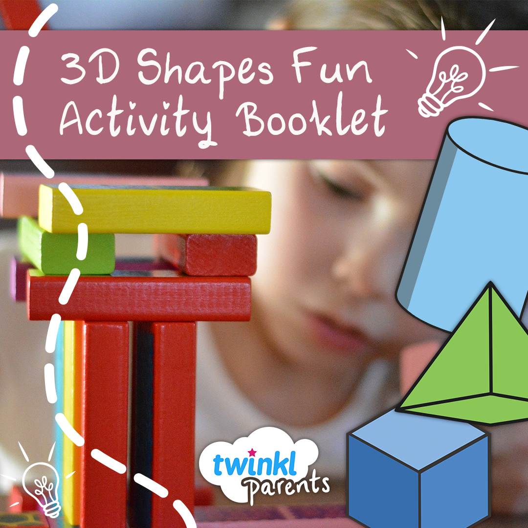 3d Shapes Activity Booklet For Home Learning In