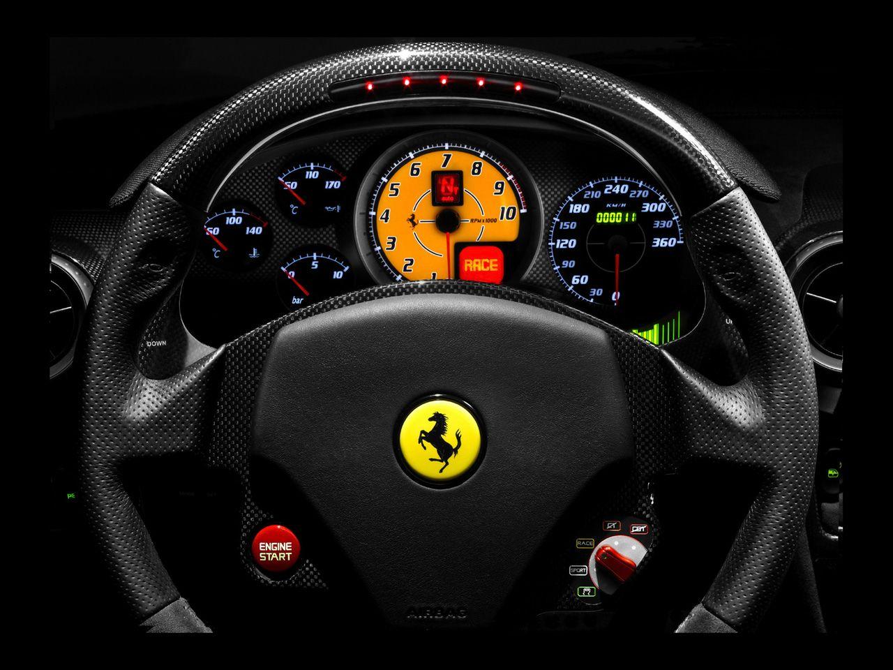 Ferrari 430 Scuderia Dashboard 05 Ferrari Car Ferrari F430 Ferrari
